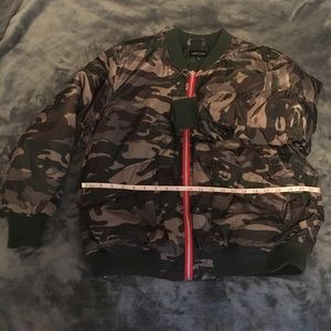 Camouflage Puffer Jacket